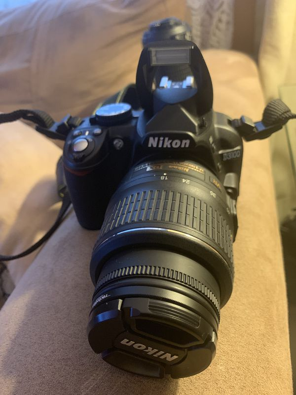 Nikon D3100 with extra zoom lens