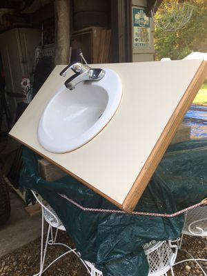 Sink, Faucet,Countertop good shape $50 for Sale in Varna, IL