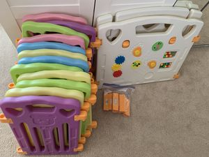 Playpen for kids - extra large - 14 panel for Sale in Phoenix, AZ