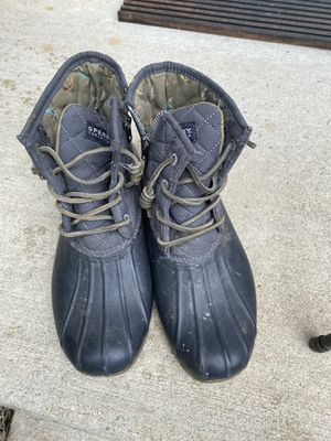 Women's size 8 Sperry weather boots for Sale in North Potomac, MD