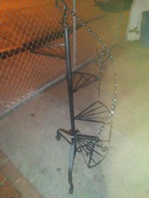 Flower pot stands black for Sale in Los Angeles, CA