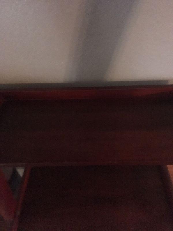 Ladder wood shelf