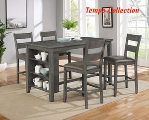 NEW, 5PC Counter Height SET, SKU# 7838 for Sale in Santa Ana, CA