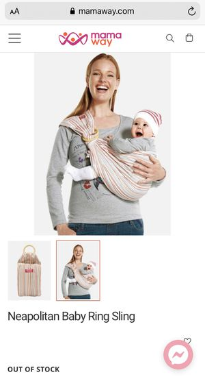 {url removed} baby carrier for Sale in Goodyear, AZ