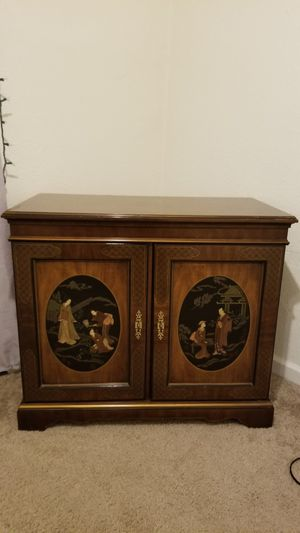 Storage cabinet. Solid piece for Sale in Colorado Springs, CO