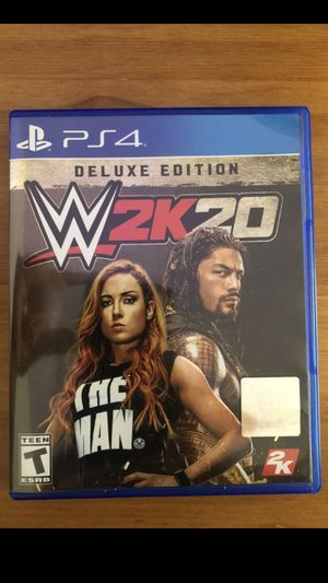 PS4 Game WWE2K20 Deluxe for Sale in Pittsburg, CA