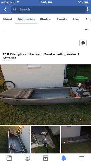 12ft Jon boat for Sale in Prince George, VA
