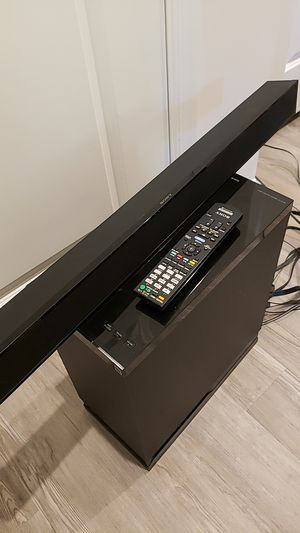 Sony Sound bar & subwoofer for Sale in White Plains, MD