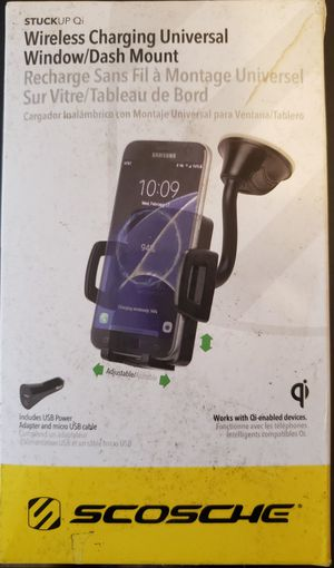 Scosche - Vehicle Mount for Mobile Devices - Black for Sale in OAK GROVE, KY