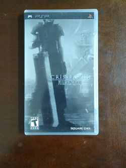 Limited Edition Final Fantasy VIII: Crisis Core [PSP] for Sale in Austin,  TX