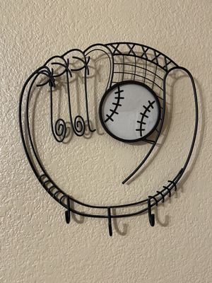 Metal baseball Glove with slot for photo for Sale in Phoenix, AZ