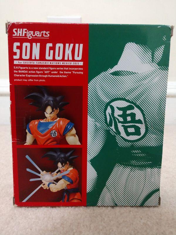 Mexico Goku SH Figuarts**Rare**Dragon Ball Z**DBZ