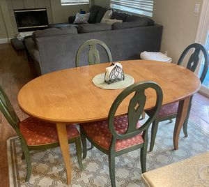 Ethan Allen Kitchen Table and Chairs for Sale in Brentwood, CA
