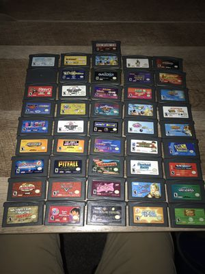 Gameboy Games $5 each for Sale in Hickory, MS