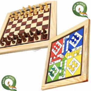 New Chess & Ludo 2 In 1 Board Game for Sale in Hayward, CA