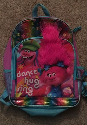Trolls backpack for Sale in Milton, MA