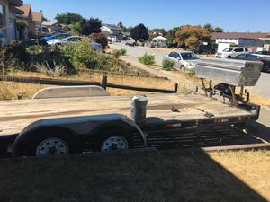 Pj trailer For towing cars Double axle for Sale in Fremont, CA