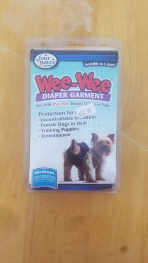 Weewee dog diaper for Sale in Apache Junction, AZ