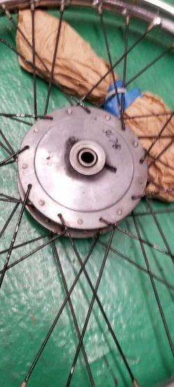 "Bsa,chopper, triumph 21"" Front Wheel for Sale in Cypress,  CA"