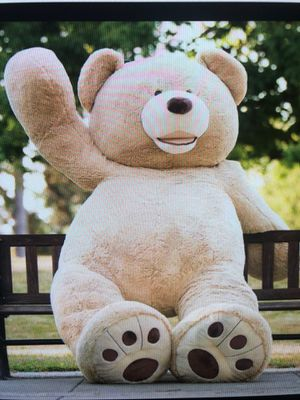 HUGE XXXXL Teddy Bear Fully Stuffed Great Condition Like New! for Sale in Port Tobacco, MD