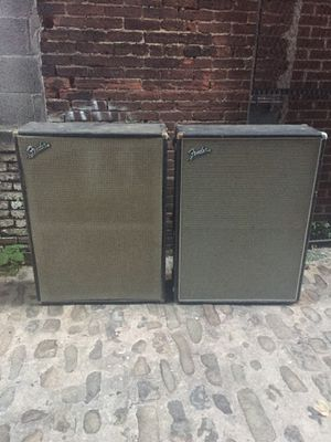 "2 Fender Bandmaster Rev. 12"" for Sale in Baltimore, MD"