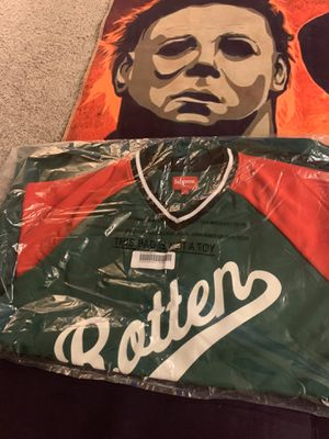 Supreme rotten baseball jersey. for Sale in Levittown, PA