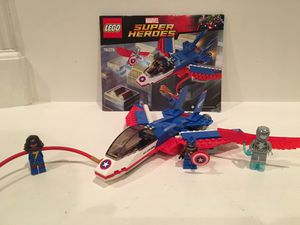 Lego Captain America Jet Pursuit for Sale in San Diego, CA
