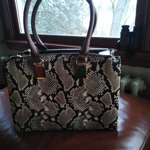 Aldo Tote Snake Skin Bag for Sale in Belmont, MA