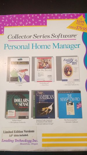 Personal home manager computer edition for Sale in Brentwood, TN