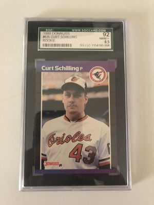 1989 donruss curt schilling rookie card for Sale in Lowell, OH