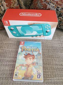 Nintendo Switch Lite + My Time in Portia Game (Brand New) for Sale in Orlando,  FL