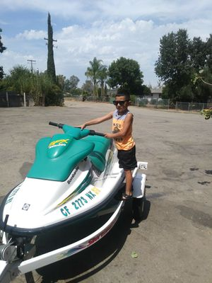 Jetski 1996 spx clean and trailer both up-to-date for Sale in Parlier, CA