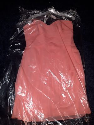 Coral Bridesmaid/prom/event dress for Sale in Portsmouth, VA