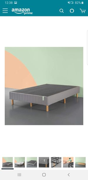 Queen upholstered platform bed frame.. BRAND NEW..can deliver for Sale in Euclid, OH