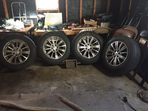 4-set of tire and rims Cadillac $500 OBO for Sale in North Chicago, IL