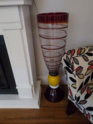 Modern glass Vase for Sale in Maitland, FL