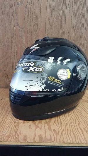 Scorpion EXO-700 Solid Gloss Black. Full Face Motorcycle Helmet Medium for Sale in Long Beach, CA