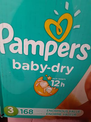 Pampers baby dry size 3 166 diapers for Sale in Los Angeles, CA