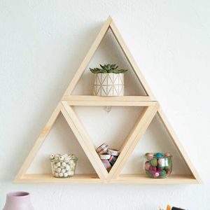 Triangle Wood Wall Shelves x 7 for Sale in Los Angeles, CA