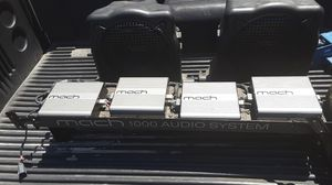 Mach 1000 audio system for Sale in Fresno, CA