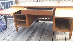 Old wood antique desk 61 years old for Sale in Greer, SC