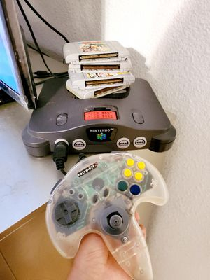 Nintendo 64 , games & controller for Sale in Dallas, TX