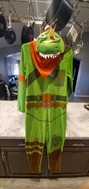 Fortnite dinosaur adult onesie/costume for Sale in Chandler, AZ