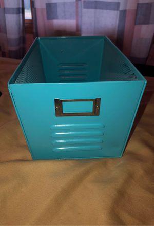 File Cabinet Bucket/ Holder/ Gift Basket Blue for Sale in Burlington, WI