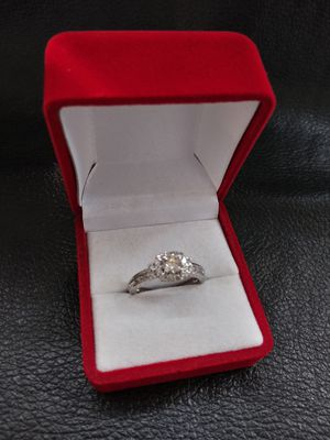 1ct diamond wedding ring 14k white gold excellent cut. F color. Vvs1 clarity. for Sale in Pomona, CA