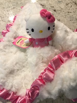 Hello Kitty Baby Security Blanket for Sale in Anaheim, CA