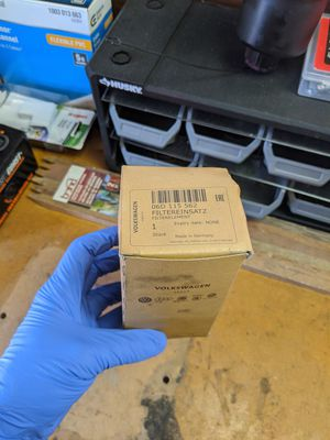 B7 A4 OEM oil filter housing and filter. for Sale in Tacoma, WA