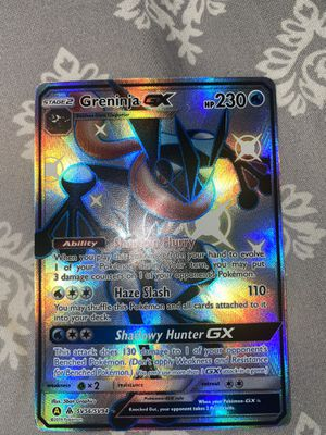 Shiny Greninja gx Pokemon card for Sale in Riverview, FL