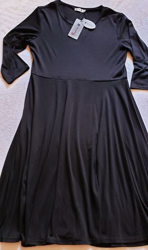 Very Ann Black women's Dress nwt large for Sale in Pittsburg, CA