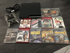 PS3 with 1 controller and 11 games! for Sale in Denver, CO